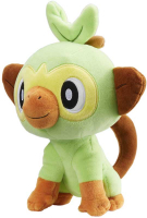 Wholesalers of Pokemon 8 Inch Plush - Grookey toys image