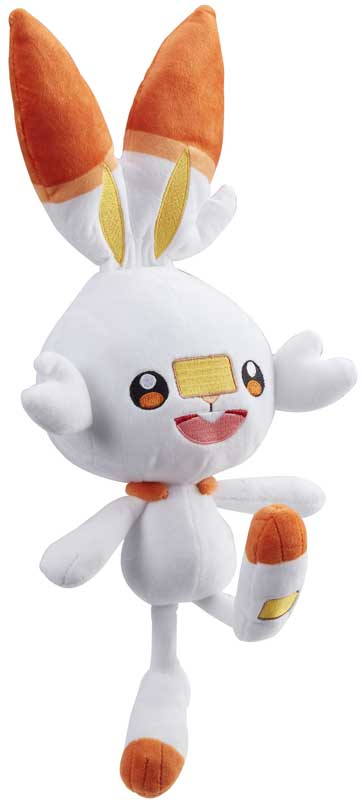 Wholesalers of Pokemon 8 Inch Plush - Scorbunny toys