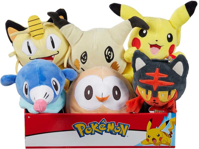 Wholesalers of Pokemon 8 Inch Plush toys