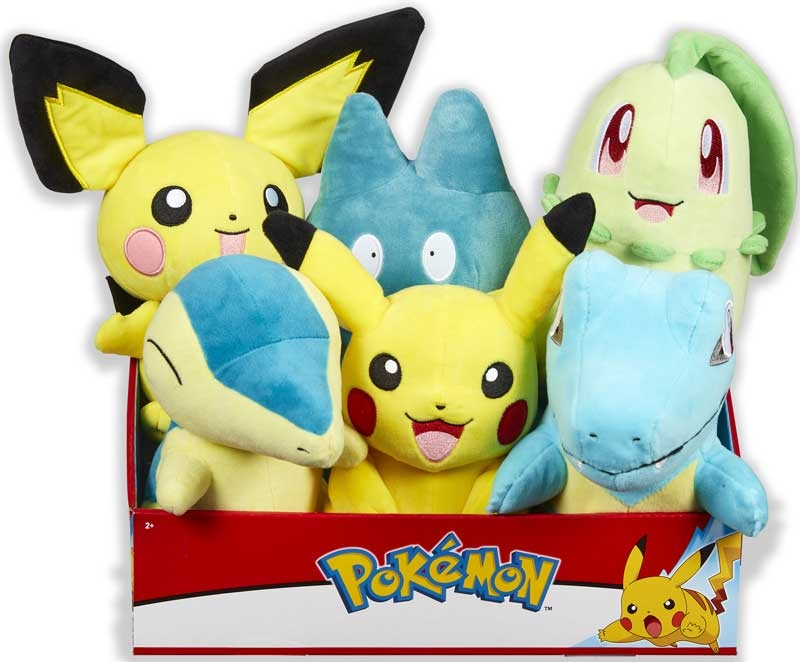 Wholesalers of Pokemon 8 Inch Plush Asst toys