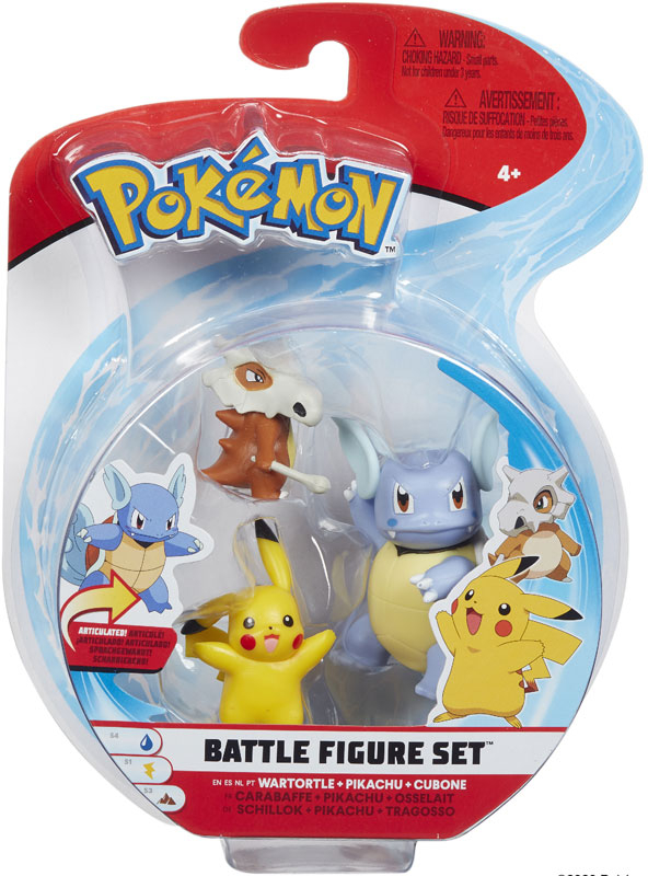 Wholesalers of Pokemon Battle 3 Figure Cubone Asst toys