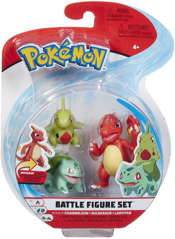 Wholesalers of Pokemon Battle 3 Figure Larvitar Asst toys