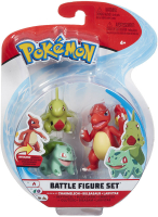 Wholesalers of Pokemon Battle 3 Figure Larvitar Asst toys image