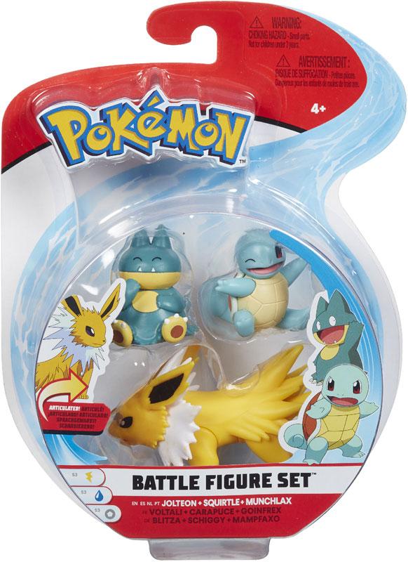 Wholesalers of Pokemon Battle 3 Figure Munchlax Asst toys