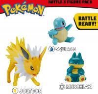 Wholesalers of Pokemon Battle 3 Figure Munchlax Asst toys image 3
