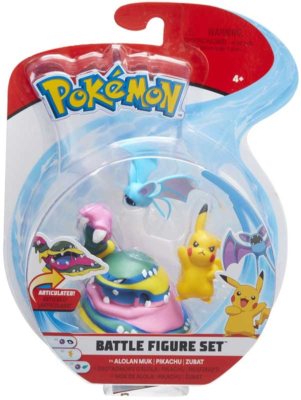 Wholesalers of Pokemon Battle 3-figure Pack Asst toys