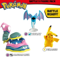 Wholesalers of Pokemon Battle 3-figure Pack Asst toys image 2