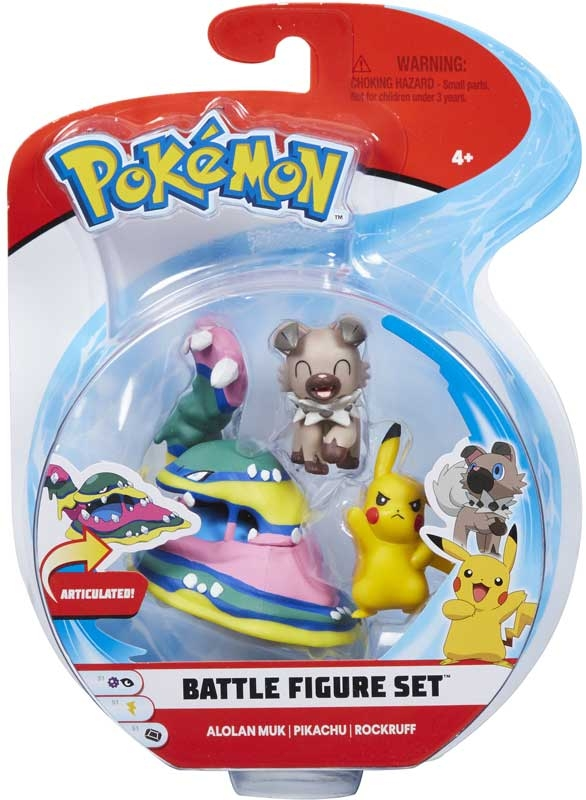 Wholesalers of Pokemon Battle 3-figure Pack toys