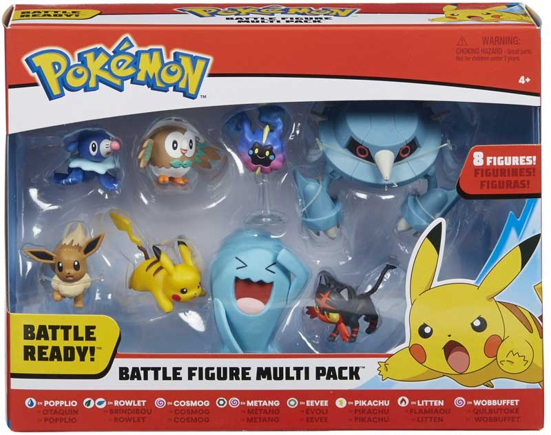 Wholesalers of Pokemon Battle 8-figure Multipack toys