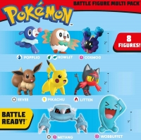 Wholesalers of Pokemon Battle 8-figure Multipack toys image 4