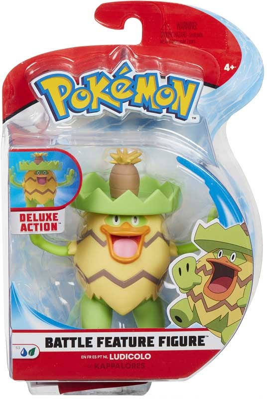 Wholesalers of Pokemon Battle Feature 4.5 Inch Figure - Ludicolo toys
