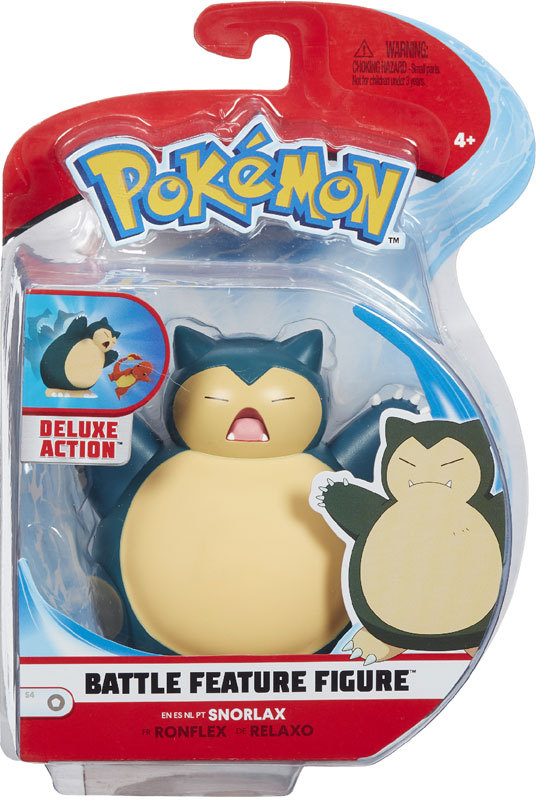 Wholesalers of Pokemon Battle Feature 4.5 Inch Snorlax toys