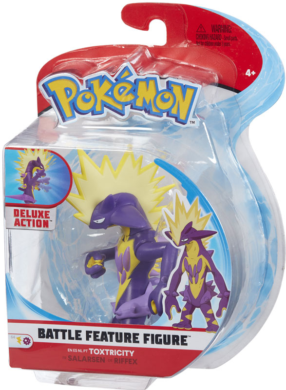 Wholesalers of Pokemon Battle Feature 4.5 Inch Toxtricity toys