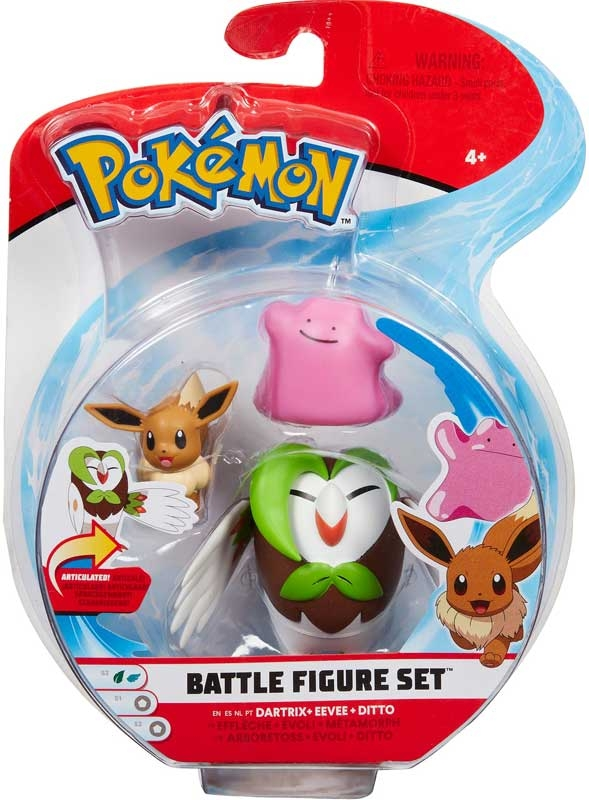 Wholesalers of Pokemon Battle Figure 3-pack toys
