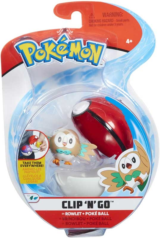 Wholesalers of Pokemon Clip N Go Asst toys
