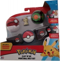 Wholesalers of Pokemon Clip N Go Poke Ball Belt Set W2 Asst toys image