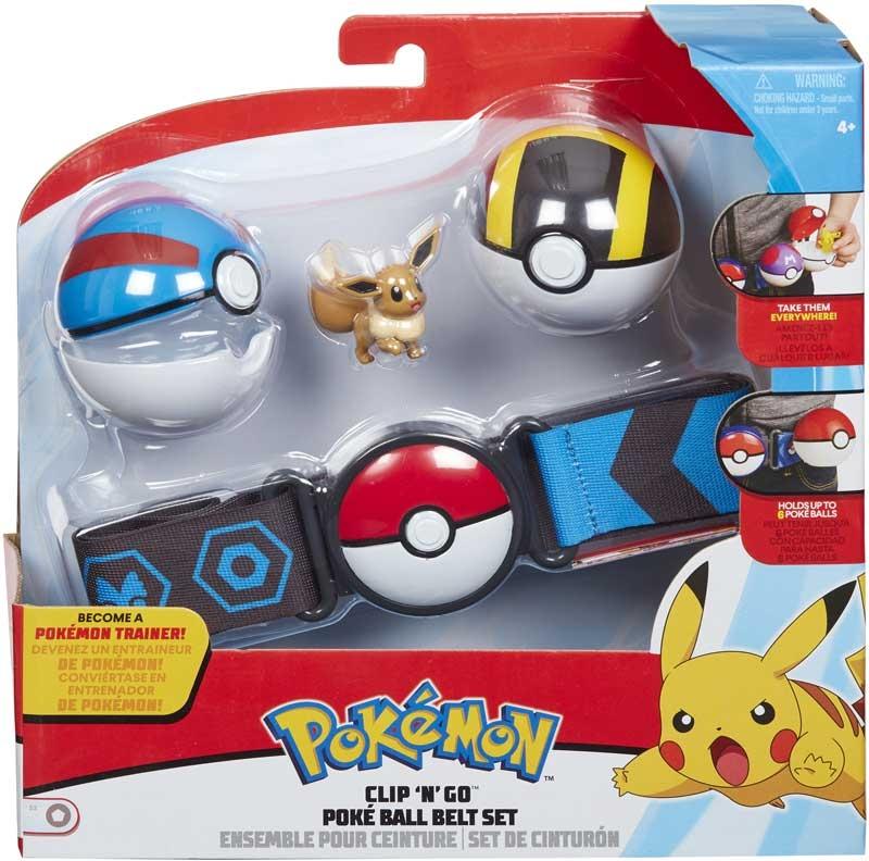 Wholesalers of Pokemon Clip N Go Poke Ball Belt Set toys