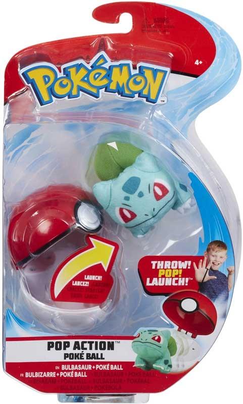 Wholesalers of Pokemon Pop Action Poke Ball - Bulbasaur toys