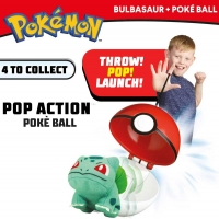 Wholesalers of Pokemon Pop Action Poke Ball - Bulbasaur toys image 3