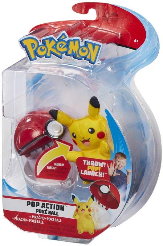 Wholesalers of Pokemon Pop Action Poke Ball - Pikachu toys