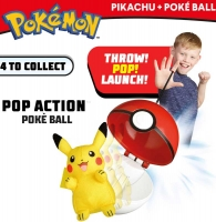 Wholesalers of Pokemon Pop Action Poke Ball - Pikachu toys image 3