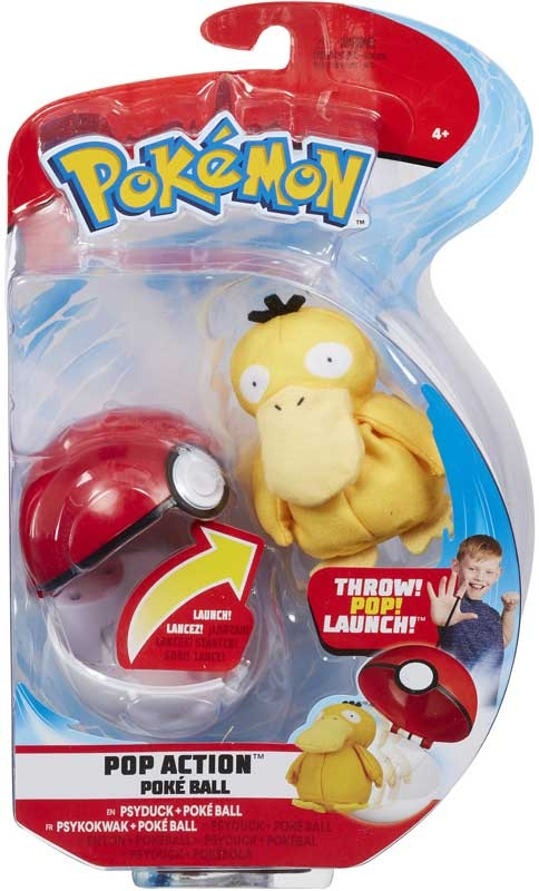 Wholesalers of Pokemon Pop Action Poke Ball - Psyduck toys