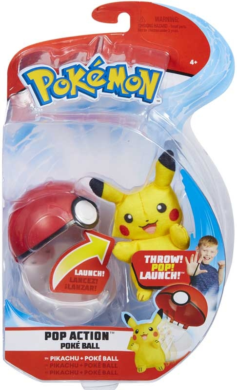 Wholesalers of Pokemon Pop Action Poke Ball toys