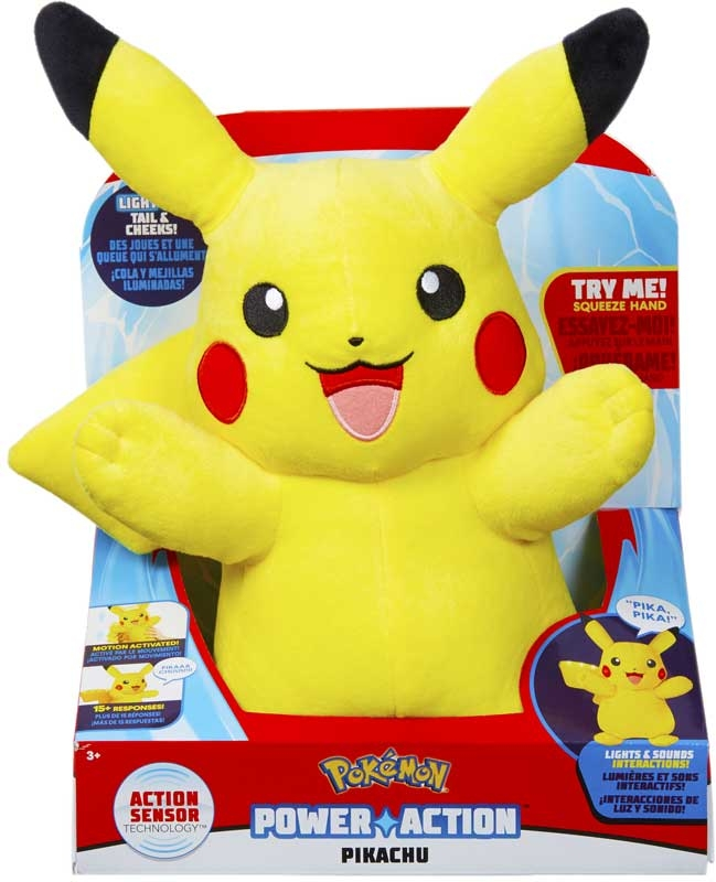 Wholesalers of Pokemon Power Action Pikachu toys