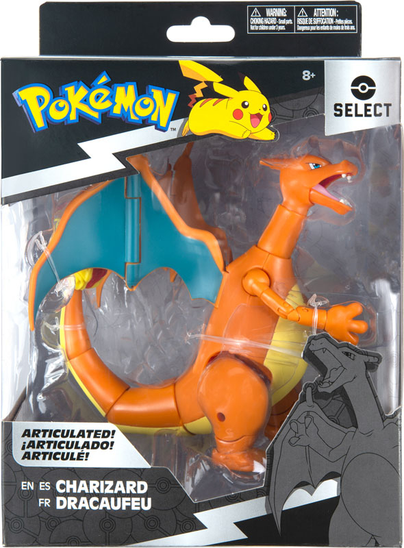 Wholesalers of Pokemon Select 6 Inch Articulated Figure - Charizard toys