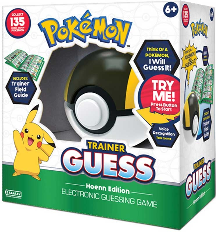 Wholesalers of Pokemon Trainer Guess - Hoenn Edition toys