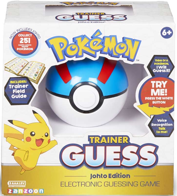 Wholesalers of Pokemon Trainer Guess - Johto Edition toys