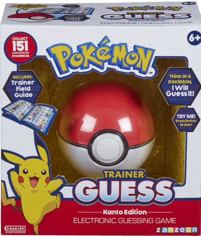 Wholesalers of Pokemon Trainer Guess - Kanto Edition toys
