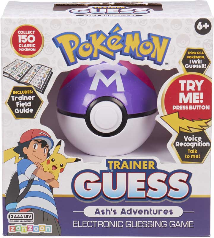 Wholesalers of Pokemon Trainer Guess Ashs Adventures toys