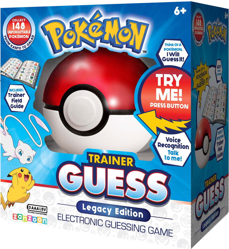 Wholesalers of Pokemon Trainer Guess Legacy Edition toys
