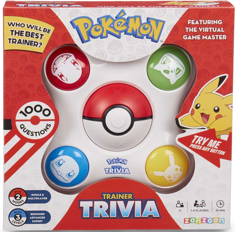 Wholesalers of Pokemon Trainer Trivia toys