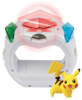 Wholesalers of Pokemon Z-ring And Z Crystals And Pikachu toys image