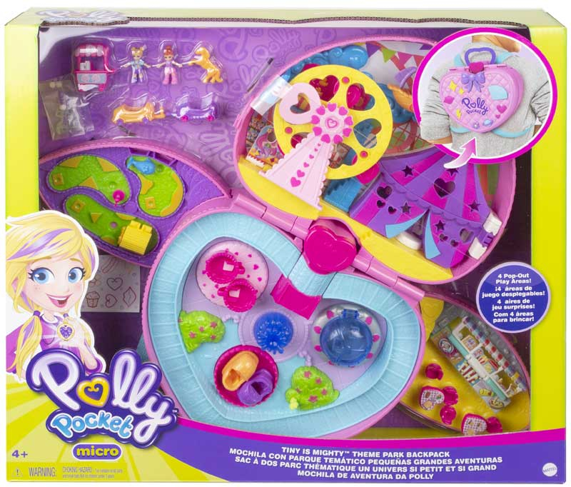 Wholesalers of Polly Pocket Backpack Compact toys