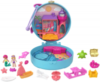 Wholesalers of Polly Pocket Big Pocket World Dolphin Beach Compact toys image 3