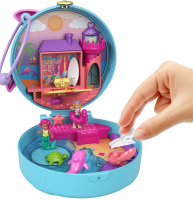 Wholesalers of Polly Pocket Big Pocket World Dolphin Beach Compact toys image 4