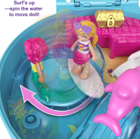 Wholesalers of Polly Pocket Big Pocket World Dolphin Beach Compact toys image 5