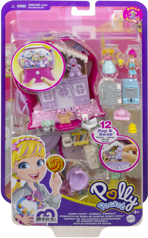 Wholesalers of Polly Pocket Big Pocket World Gumball Candyland Compact toys