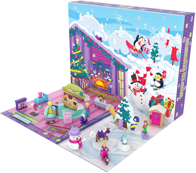 Wholesalers of Polly Pocket Holiday Advent Calendar toys