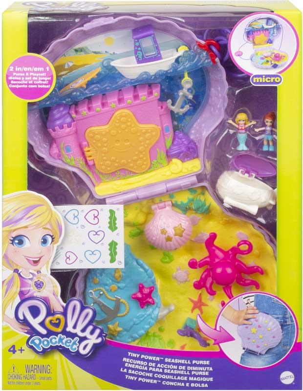 Wholesalers of Polly Pocket Polly & Shani Seashell Purse toys
