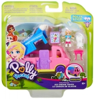 Wholesalers of Polly Pocket Pollyville Ice Cream Truck toys image