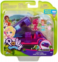 Wholesalers of Polly Pocket Pollyville Party Limo toys image
