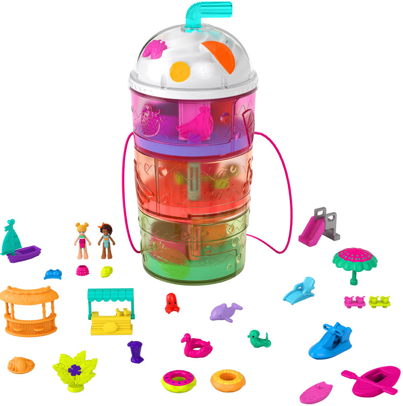 Wholesalers of Polly Pocket Spin N Surprise Waterpark toys
