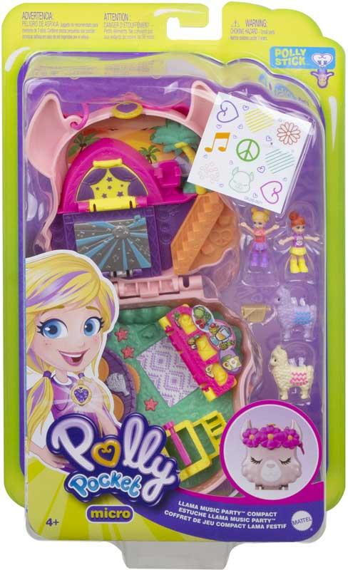 Wholesalers of Polly Pocket World Polly & Lila Llama Concert toys