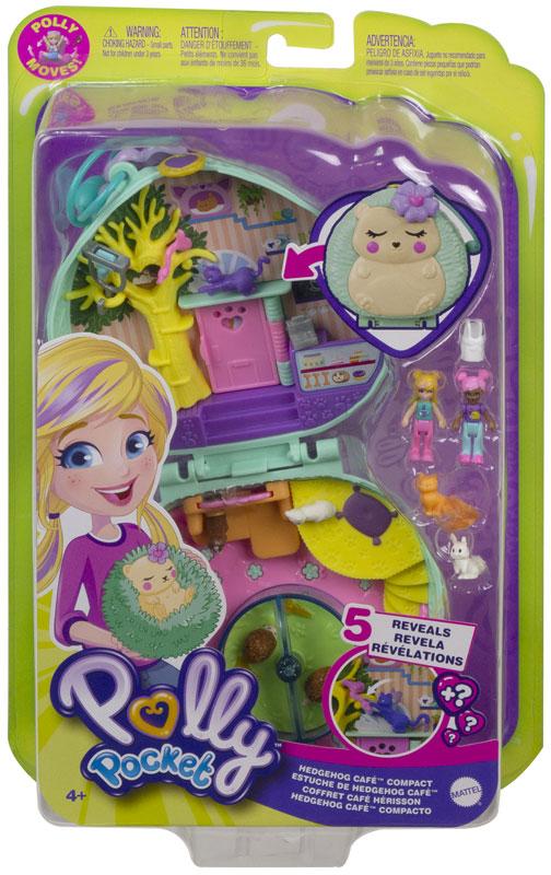 Wholesalers of Polly Pocket Big World Hedgehog Cafe toys