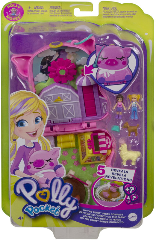 Wholesalers of Polly Pocket Big World Piglet Country toys