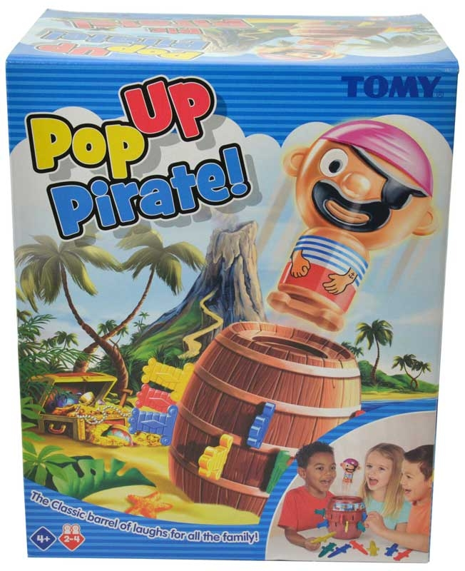 Wholesalers of Pop Up Pirate toys